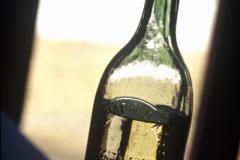 Absinthflasche.