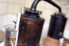 Der reine Absinth hat 85 Alkoholprozent.